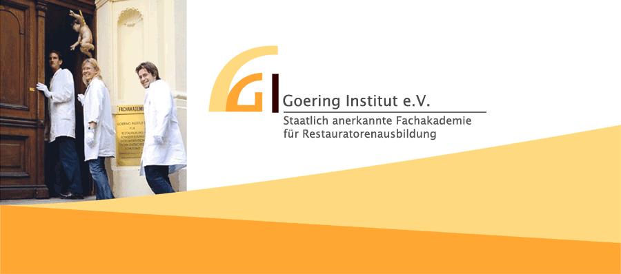 Goering Institut e.V. Fachakademie zur Restauratorenausbildung